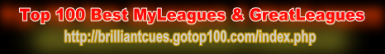 The Top 100 Best MyLeagues & GreatLeagues